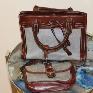 Vintage Mini Dooney and Bourke Purse and Wallet